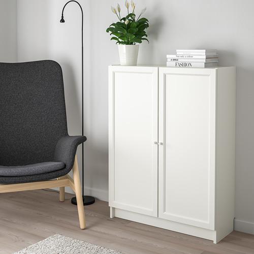 BILLY/OXBERG - 連門書架, 白色 | IKEA 香港及澳門 - PE714131_S4