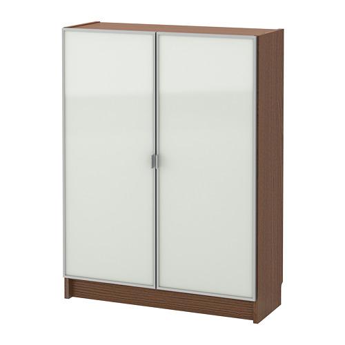 BILLY/MORLIDEN 玻璃門書櫃