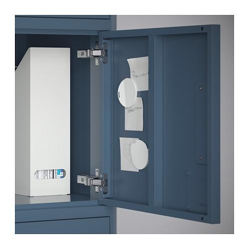 IDÅSEN - high cabinet with drawer and doors, blue | IKEA Hong Kong and Macau - PE714160_S4