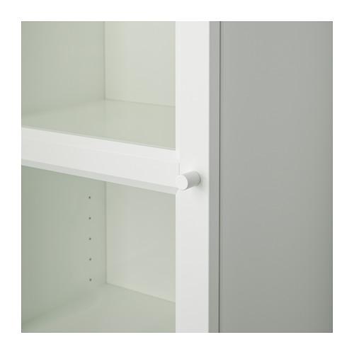 BILLY/OXBERG - 玻璃門書櫃, 白色/玻璃   IKEA 香港及澳門 - PE714190_S4