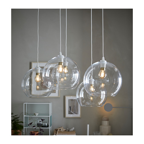 JAKOBSBYN - 吊燈燈罩, 透明玻璃 | IKEA 香港及澳門 - PH158717_S4