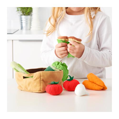 DUKTIG 蔬菜玩具,14件套裝