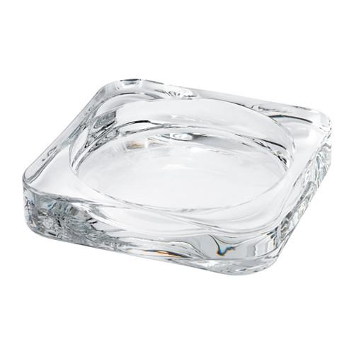 GLASIG - 蠟燭碟, 透明玻璃 | IKEA 香港及澳門 - PE549847_S4