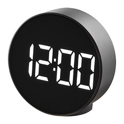 PLUGGET - alarm clock, black | IKEA Hong Kong and Macau - PE810342_S3
