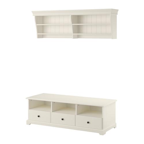 LIATORP - TV storage combination, white | IKEA Hong Kong and Macau - PE406005_S4