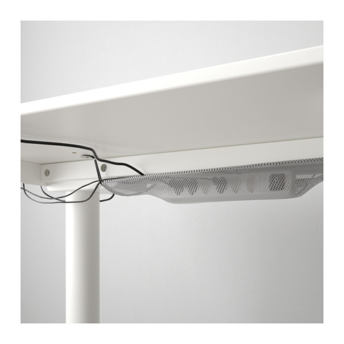 BEKANT - 升降式書檯, 160x80cm, 白色 | IKEA 香港及澳門 - PE714379_S4
