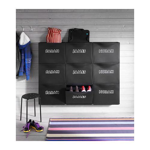 TRONES - 鞋櫃/貯物櫃, 黑色 | IKEA 香港及澳門 - PE296176_S4