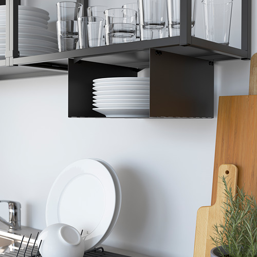 ENHET - 角位廚房, 炭黑色/白色 | IKEA 香港及澳門 - PE783583_S4