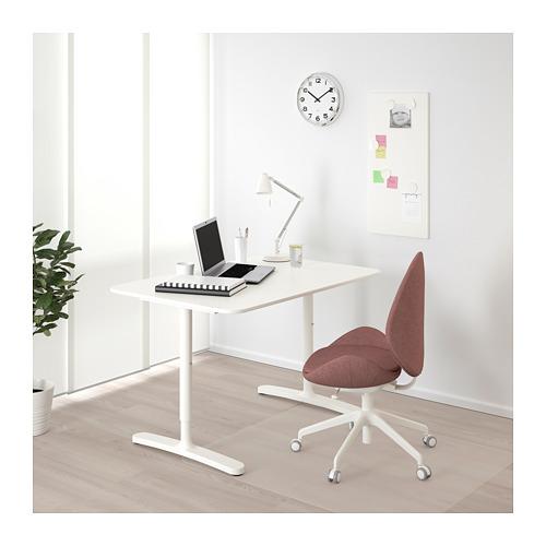 BEKANT - 書檯, 120x80cm, 白色 | IKEA 香港及澳門 - PE714615_S4