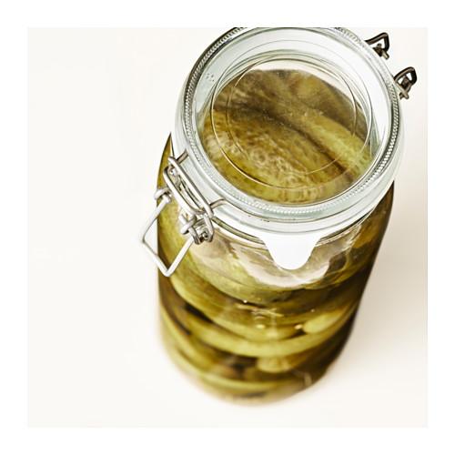 KORKEN - jar with lid, clear glass   IKEA Hong Kong and Macau - PE611657_S4