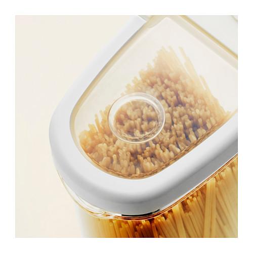 IKEA 365+ - 食物盒, 透明/白色, 2.3 升   IKEA 香港及澳門 - PE611661_S4