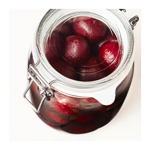 KORKEN - jar with lid, clear glass | IKEA Hong Kong and Macau - PE611672_S4