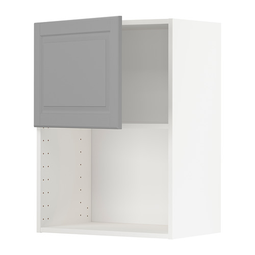 METOD - wall cabinet for microwave oven, white/Bodbyn grey | IKEA Hong Kong and Macau - PE754620_S4