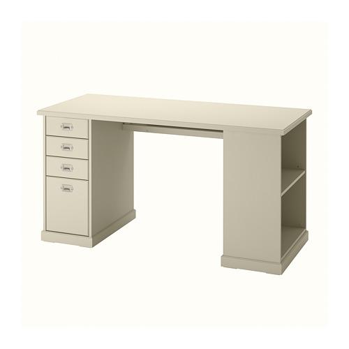 VEBJÖRN - desk, 140x60x72 cm, beige   IKEA Hong Kong and Macau - PE810543_S4