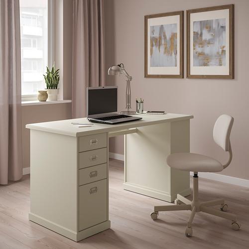 VEBJÖRN - desk, 140x60x72 cm, beige   IKEA Hong Kong and Macau - PE810546_S4