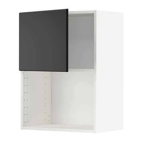 METOD - wall cabinet for microwave oven, white/Kungsbacka anthracite | IKEA Hong Kong and Macau - PE754628_S4