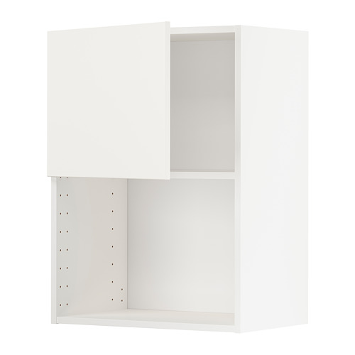 METOD - wall cabinet for microwave oven, white/Voxtorp matt white | IKEA Hong Kong and Macau - PE754639_S4