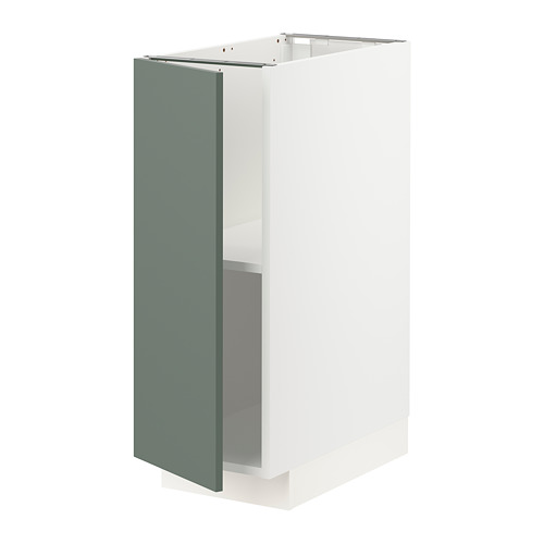 METOD - 地櫃連層板, 白色/Bodarp 灰綠色 | IKEA 香港及澳門 - PE754647_S4