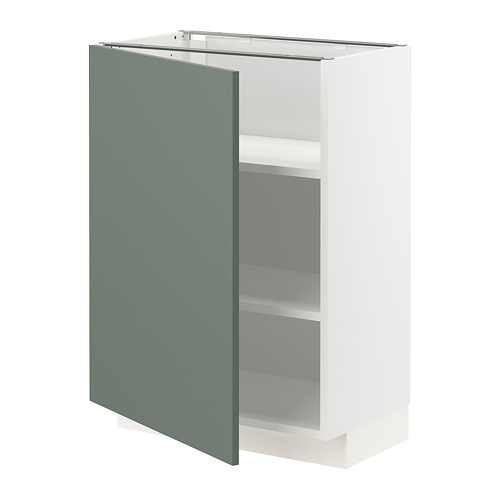 METOD - 地櫃連層板, 白色/Bodarp 灰綠色 | IKEA 香港及澳門 - PE754650_S4