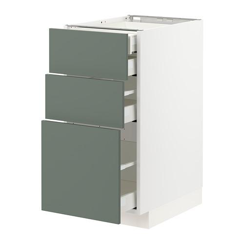 METOD/MAXIMERA - 廚櫃組合, 白色/Bodarp 灰綠色   IKEA 香港及澳門 - PE754654_S4