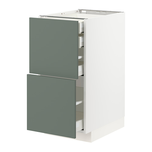 METOD/MAXIMERA - 廚櫃組合, 白色/Bodarp 灰綠色 | IKEA 香港及澳門 - PE754666_S4