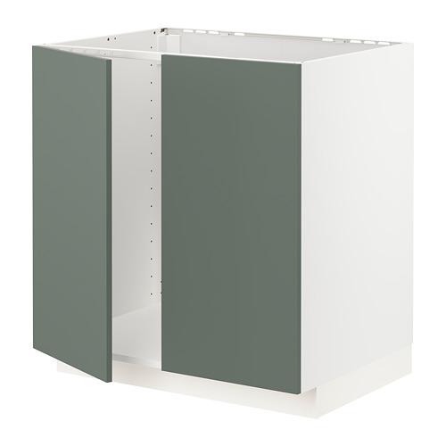 METOD 星盆用地櫃連一對門