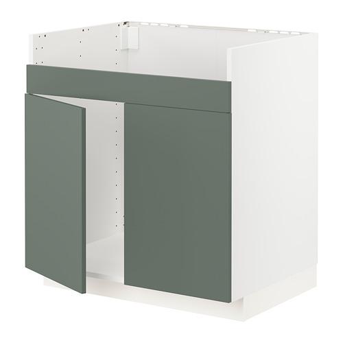 METOD - HAVSEN雙星盆底櫃, 白色/Bodarp 灰綠色 | IKEA 香港及澳門 - PE754679_S4
