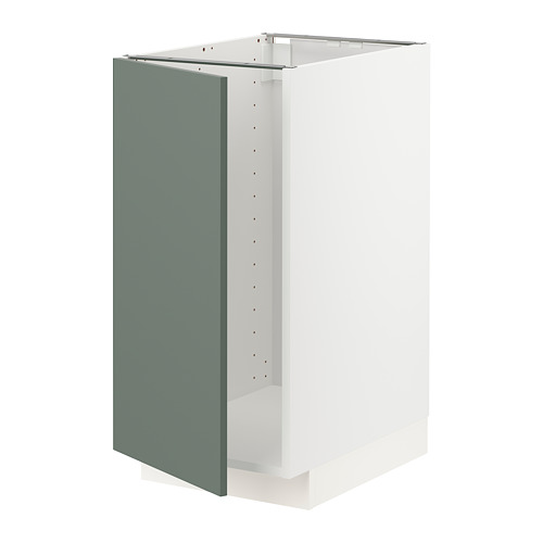 METOD - 星盆/垃圾分類用地櫃組合, white/Bodarp grey-green | IKEA 香港及澳門 - PE754691_S4