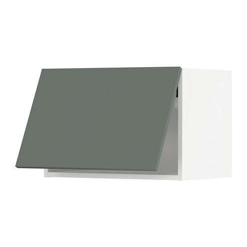 METOD - wall cabinet horizontal, white/Bodarp grey-green | IKEA Hong Kong and Macau - PE754717_S4