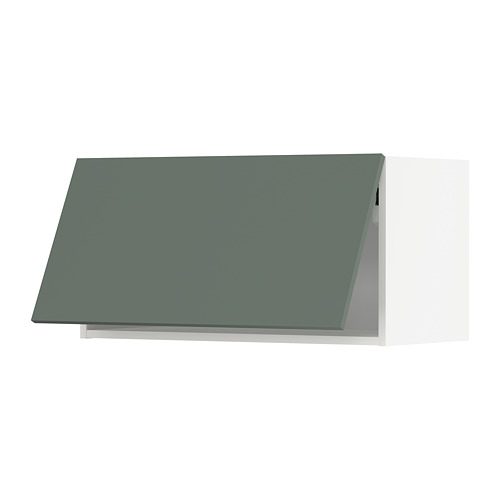 METOD - wall cabinet horizontal, white/Bodarp grey-green | IKEA Hong Kong and Macau - PE754718_S4