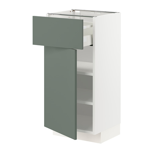METOD/MAXIMERA base cabinet with drawer/door