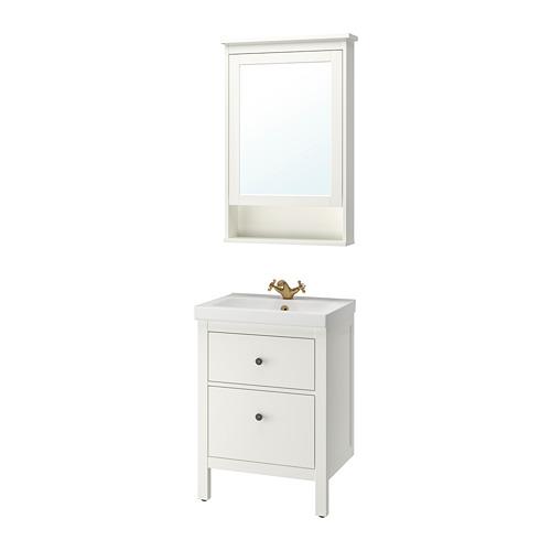 ODENSVIK/HEMNES - 浴室貯物組合 4件裝, white/Runskär tap | IKEA 香港及澳門 - PE810664_S4
