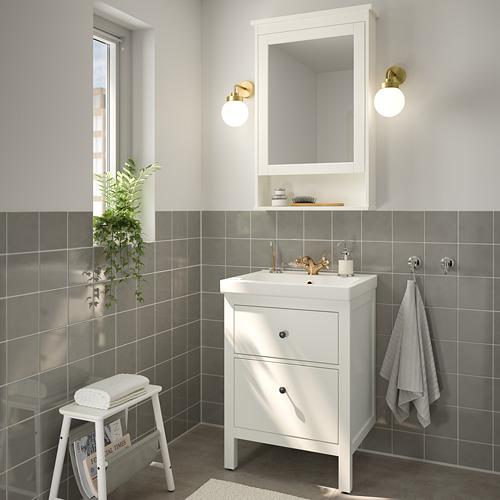 ODENSVIK/HEMNES - 浴室貯物組合 4件裝, white/Runskär tap | IKEA 香港及澳門 - PE810665_S4