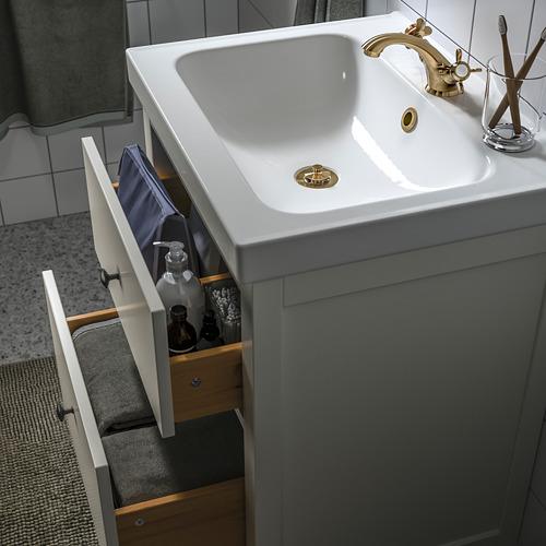 ODENSVIK/HEMNES - 浴室貯物組合 4件裝, white/Runskär tap | IKEA 香港及澳門 - PE810669_S4