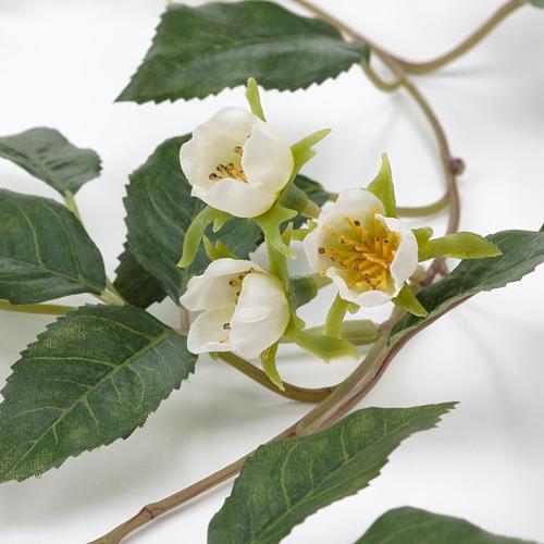 SMYCKA - 人造花環, 室內/戶外用 玫瑰/白色 | IKEA 香港及澳門 - PE810683_S4