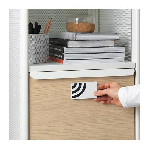 BEKANT - 貯物組合連智能鎖, 網狀 白色 | IKEA 香港及澳門 - PE714887_S4