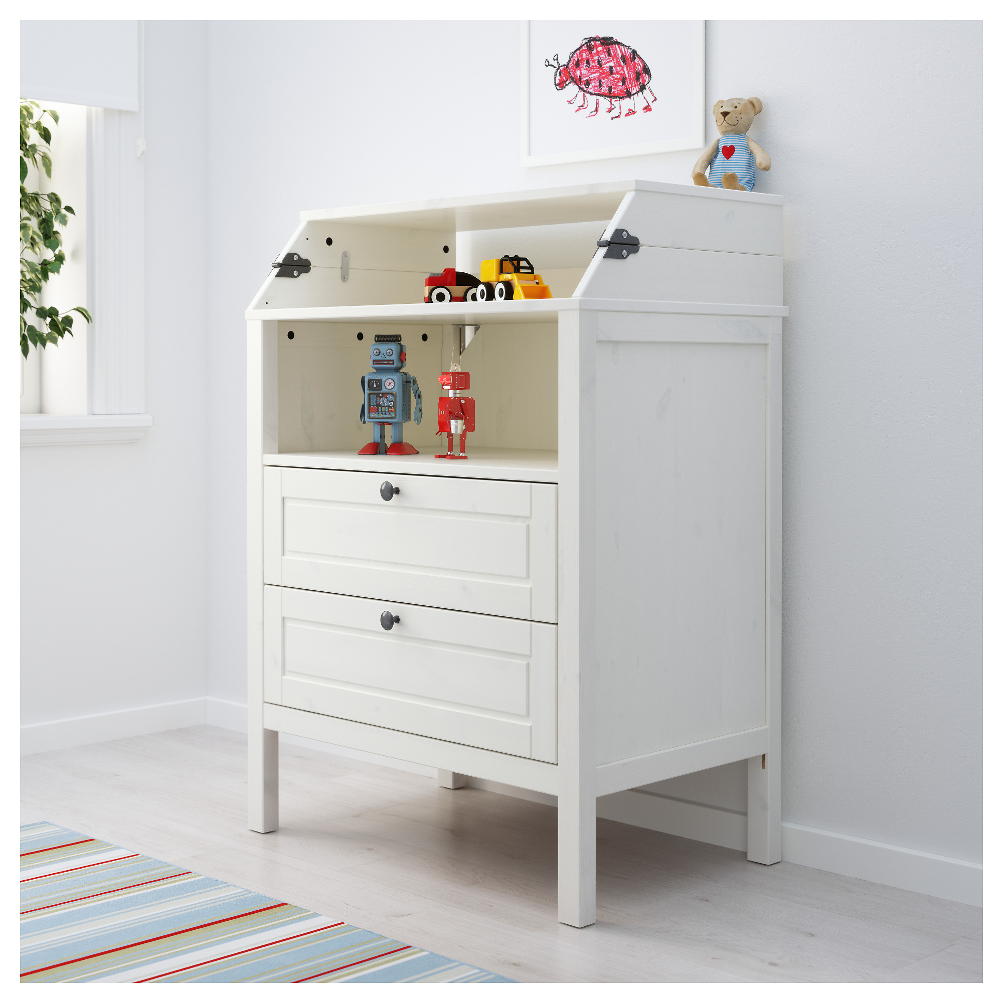 Sundvik Changing Table Chest Of Drawers White Ikea Hong Kong And Macau
