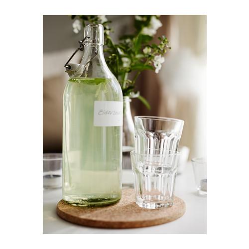 KORKEN - bottle with stopper, clear glass | IKEA Hong Kong and Macau - PE390686_S4
