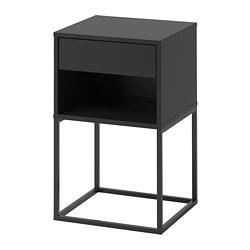 VIKHAMMER - 床頭几, 黑色 | IKEA 香港及澳門 - PE665947_S3