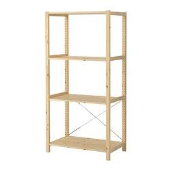 IVAR - 1 section/shelves, 89x50x179 cm, pine | IKEA Hong Kong and Macau - PE323553_S3
