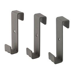 IVAR - 邊架用掛鈎, 灰色 | IKEA 香港及澳門 - PE550959_S3
