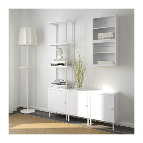 DYNAN shelving unit with 3 cabinets
