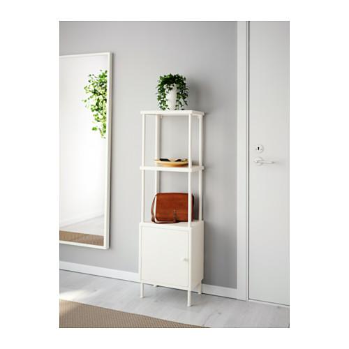 DYNAN - 層架組合連貯物櫃, 白色 | IKEA 香港及澳門 - PE612745_S4