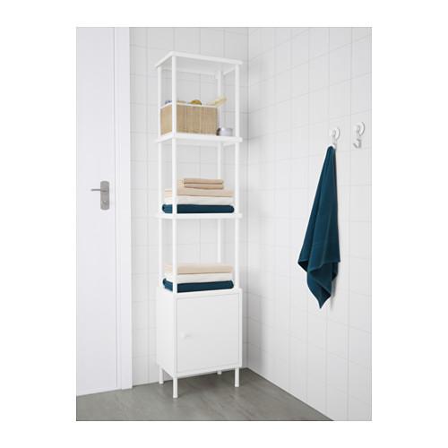 DYNAN - 層架組合連貯物櫃, 白色   IKEA 香港及澳門 - PE612735_S4