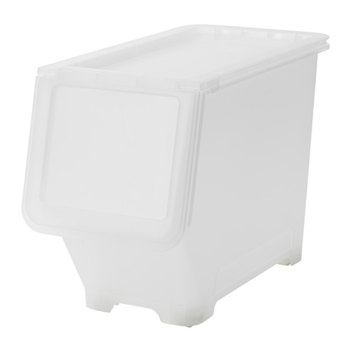 FIRRA - box with lid, transparent | IKEA Hong Kong and Macau - PE612435_S4