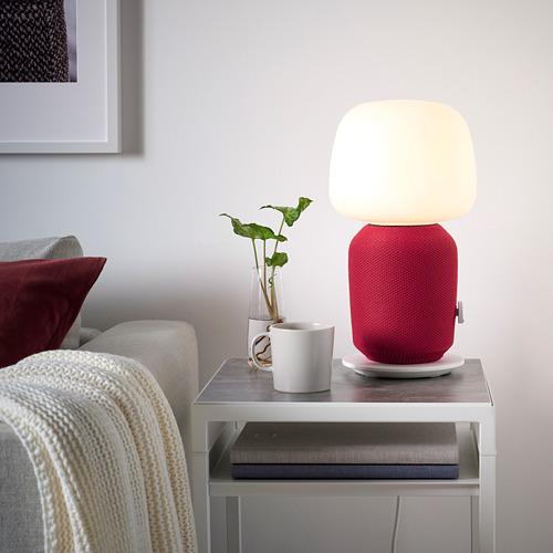 SYMFONISK cover for table lamp speaker