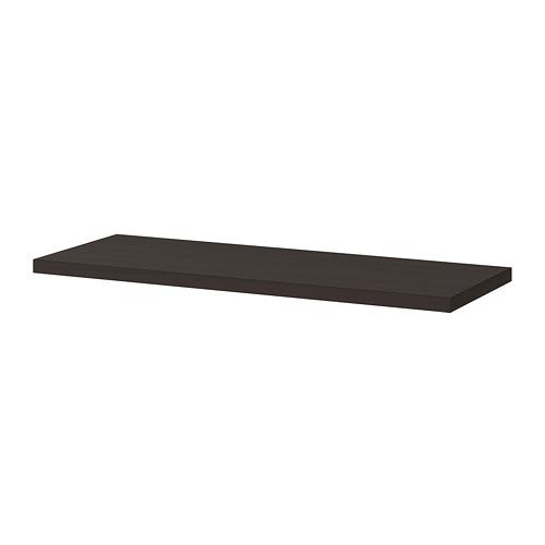 BERGSHULT - shelf, brown-black   IKEA Hong Kong and Macau - PE715287_S4