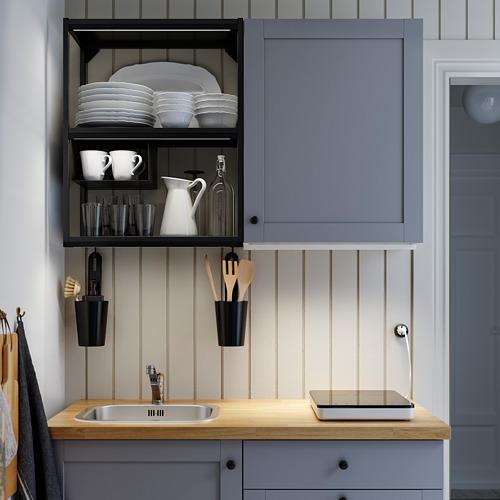 SKYDRAG - LED櫃台板抽屜燈附感應器, 可調式 炭黑色   IKEA 香港及澳門 - PH172914_S4