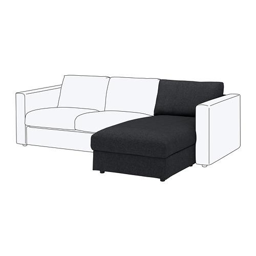 VIMLE chaise longue section