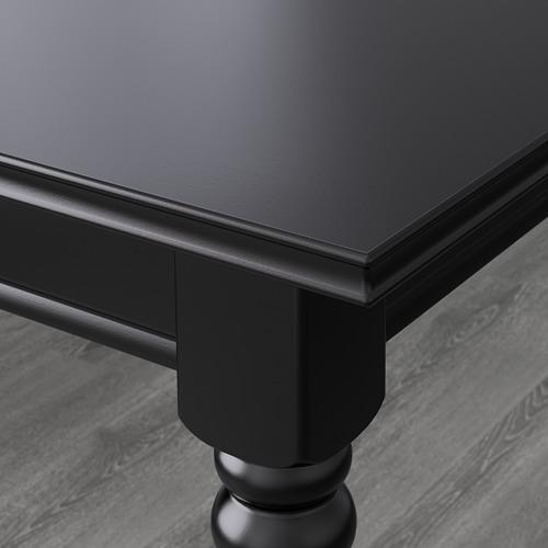 INGATORP/INGOLF - table and 4 chairs, black/brown-black   IKEA Hong Kong and Macau - PE594981_S4